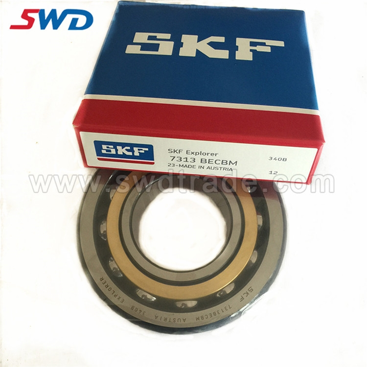 SKF 7313 ANGULAR CONTACT BALL BEARINGS 7313BECBM BEARING